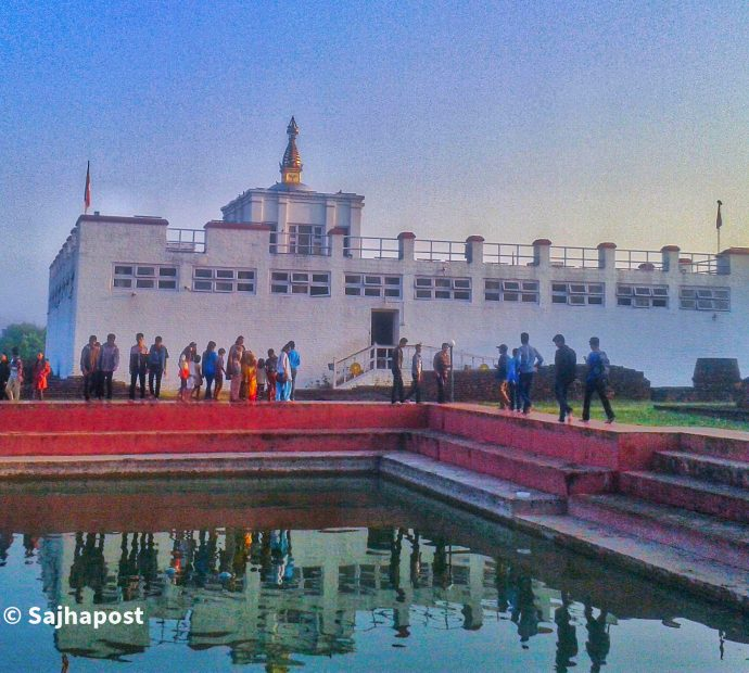Number of domestic tourists to Lumbini growing in wake of lift of lockdown