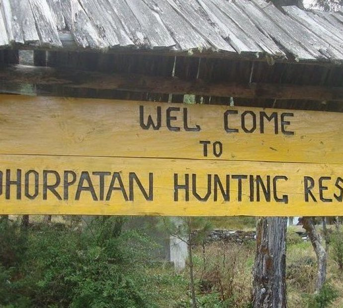 Dhorpatan hunting reserve's 182 hectares land encroached