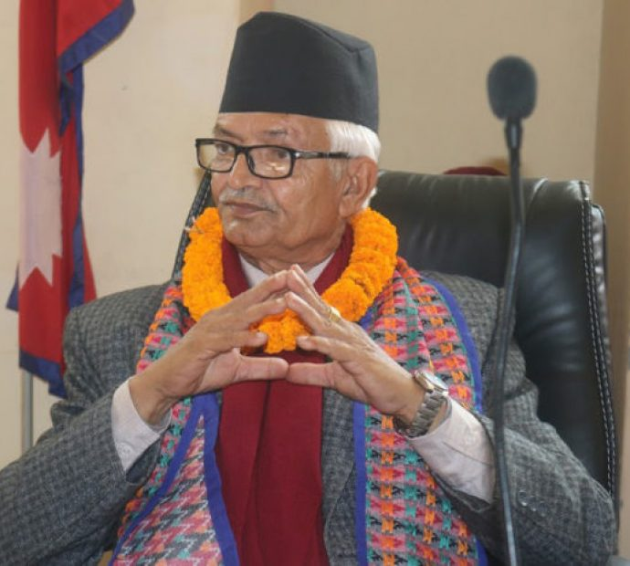 Chief Minister Poudel monitors projects in east Makawanpur