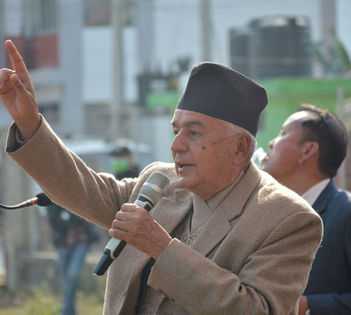 Poudel demands immediate meeting of party central committee