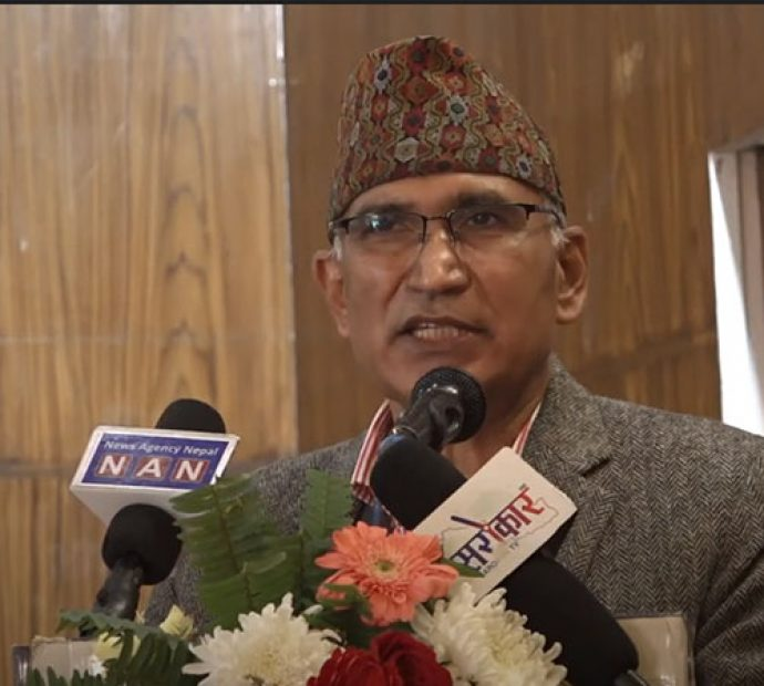 Efforts underway to bring COVID-19 vaccine: Minister Poudel