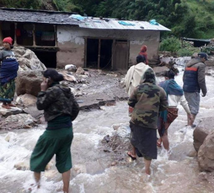 Bagmati State provides relief materials to Lidi landslide survivors