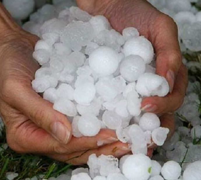 Rain with hailstone damages different crops in Baitadi