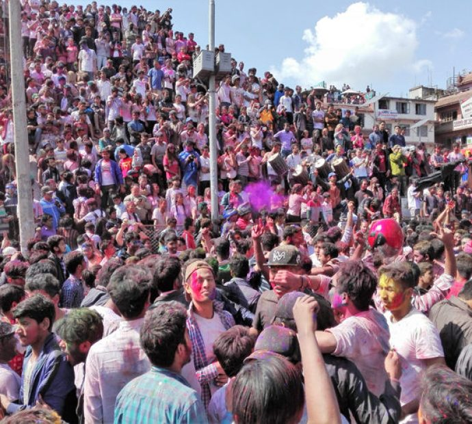 Holi less festive; valley's security tightened