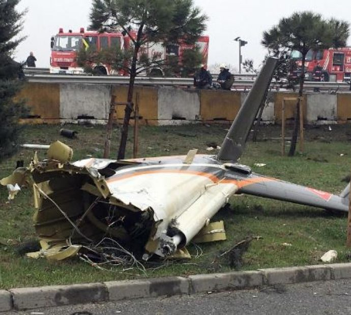 5 dead including Russians in Istanbul helicopter crash