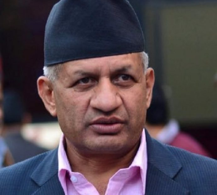 Minister Gyawali bats for protection of welfare of Nepali workers