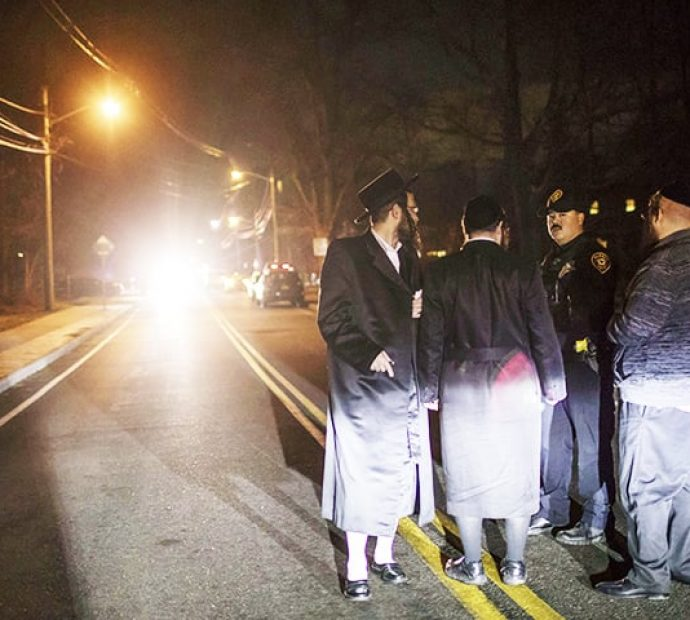Five wounded in stabbing at New York rabbi's house